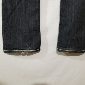 Candy Couture Jeans - Candy Couture blue jeans with white stitching